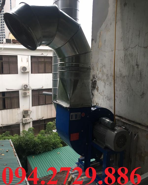Thi công lắp đặt trọn gói hệ thống hút khói mùi bếp nhà hàng uy tín giá rẻ nhất ở Hà Nội
